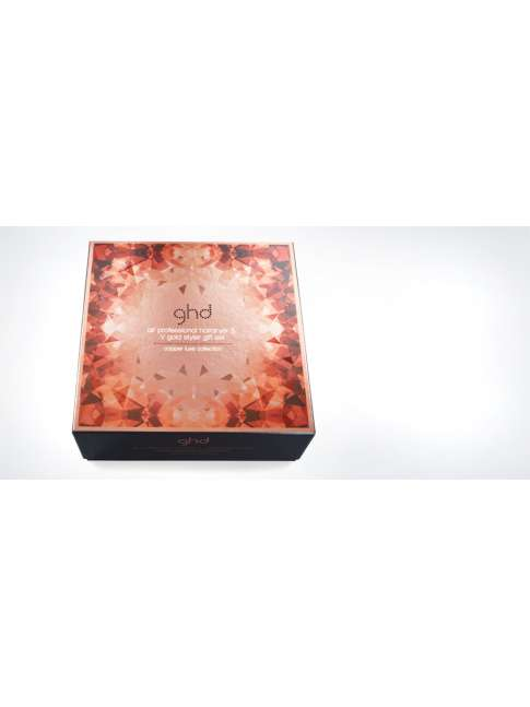 Ghd V Gold & Ghd air copper luxe gift set