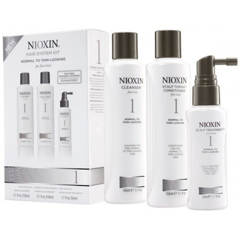 Nioxin S Customised Range Of Hair And Scalp Products Are
