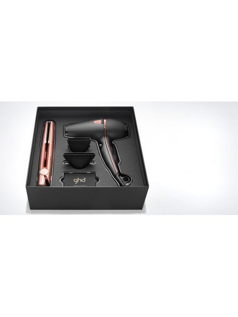 SET GHD ROSE GOLD DELUXE