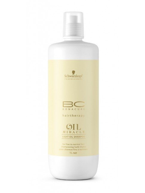 Schwarzkopf Bc Oil Miracle Light Oil Shampoo 1000ml