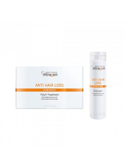 NEW INTRAGEN PATCH HAIR LOSS TREATMENT + SHAMPOO 250ML