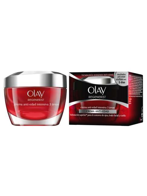 OLAY REGENERIST 3 AREAS crema anti-edad intensiva 50 ml