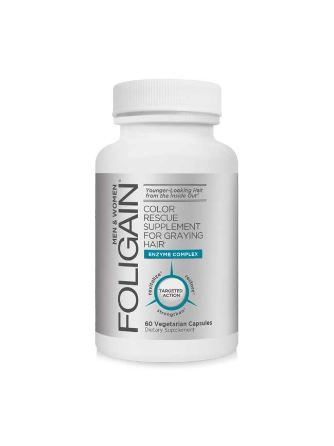 FOLIGAIN® ANTIGRAY HAIR FORMULA 60 Capsules