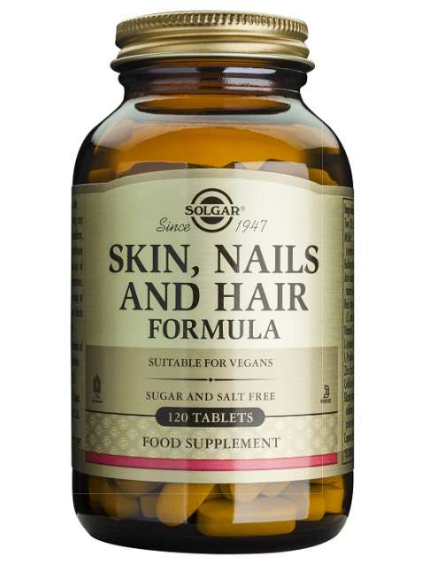 Solgar, Skin, Nails & Hair, Advanced MSM Formula, 60 Tablets