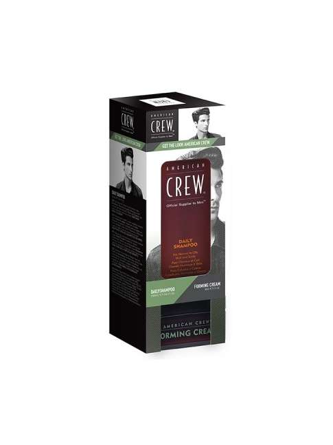 Kit American Crew Daily Shampoo 250 ml + Forming Cream 85 ml