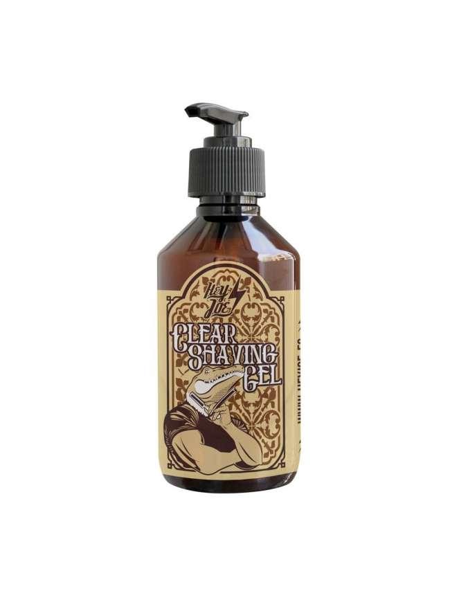 HEY JOE - Clear Shaving Gel 250 ml | Gel de afeitado transparente 250 ml