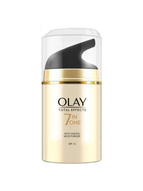 Olay Total Effects 7 en 1 Hidratante Anti-Edad con SPF 15-50 ml