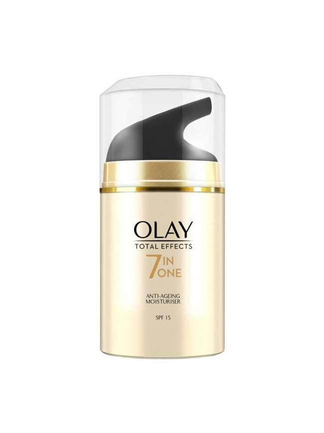 Olay Total Effects 7 en 1 Hidratante Anti-Edad con SPF 15-50 ml