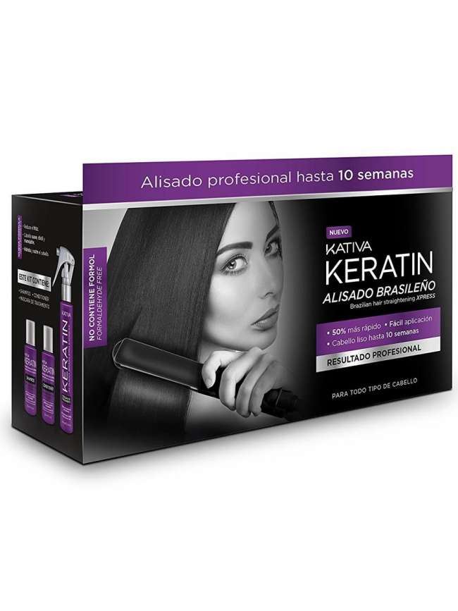 KATIVA KERATIN ALISADO BRASILEÑO LOTE 3 productos