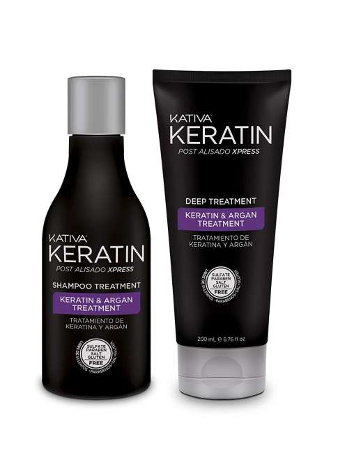 KATIVA KERATIN KIT POST ALISADO XPRESS 2 productos
