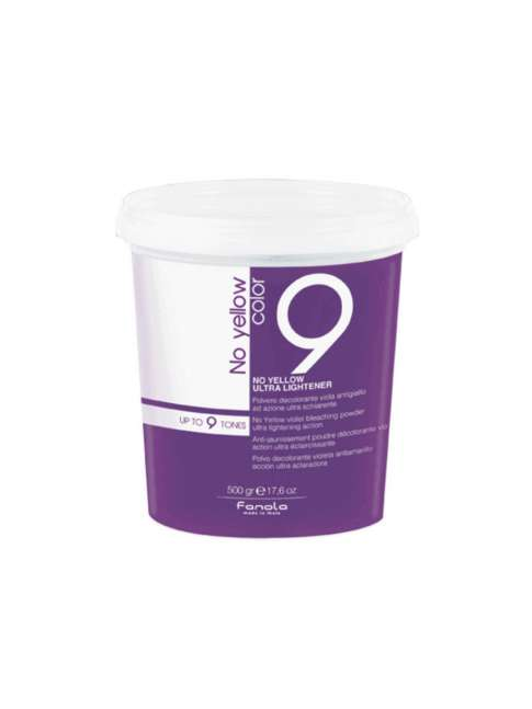 POLVO DECOLORANTE NO YELLOW VIOLETA 9 TONOS 500G