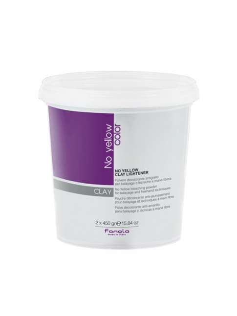 DECOLORACION NO YELLOW ESPECIAL BALAYAGE CLAY 2X450G