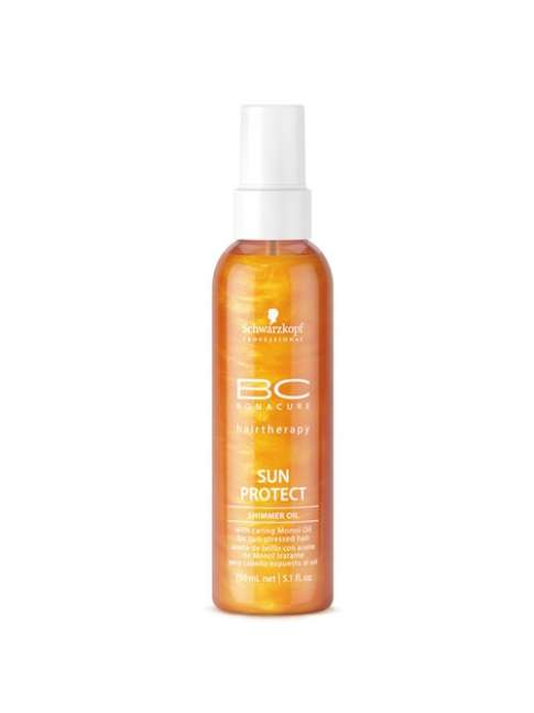 Shwarzkopf Bc Sun Protect shimmer oil 150