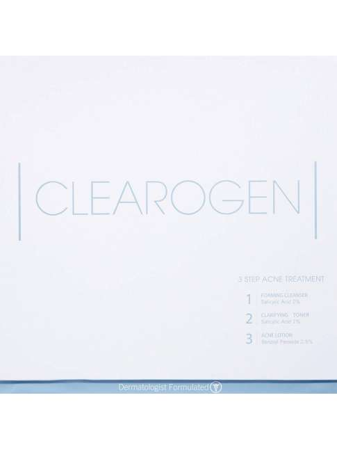 Clearogen Acne Treatment Anti-Blemish System -3 steps to a clear skin