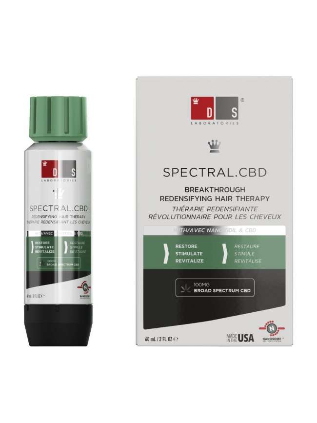 SPECTRAL.CBD HAIR LOSS TREATMENT WITH BROAD SPECTRUM CBD + NANOXIDIL 5%