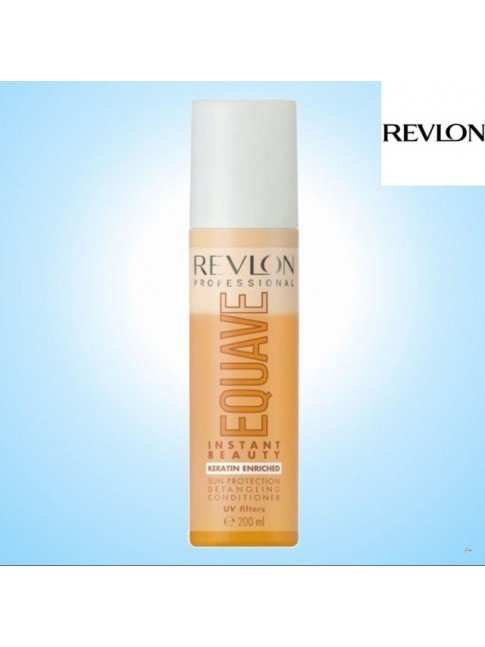REVLON EQUAVE PROTECTION DETANGLING CONDITIONER KERATIN ENRICHED UV filters
