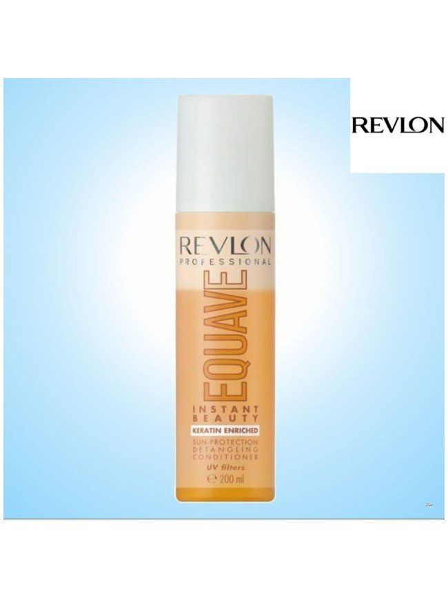 REVLON EQUAVE PROTECTION DETANGLING CONDITIONER KERATIN 200ml ENRICHED UV filters