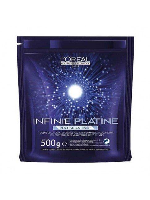 L´ORÉAL BLEACHING POWDER INFINIE PLATINE 500 GR