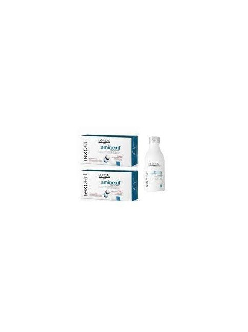 Pack l'oreal expert aminexil advanced omega 6 anticaida 20 x 6 ml + champu 250ml