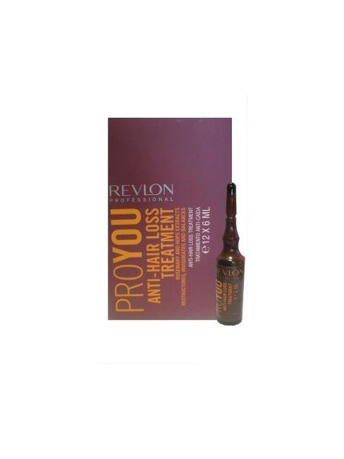 AMPOLLAS ANTICAIDA REVLON PROYOU HAIRLOSS X 12