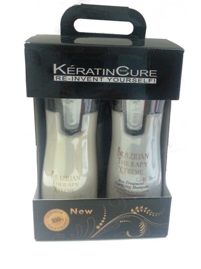 KIT KERATIN CURE B-T-X 4X120ML