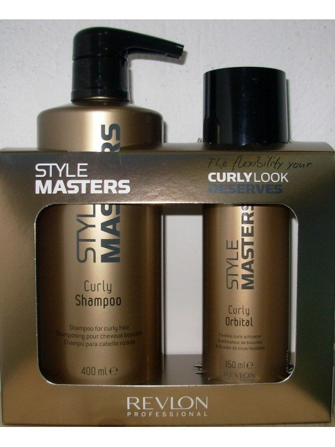 PACK DUO CURLY STYLE MASTERS
